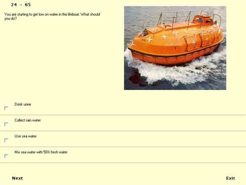 Examiner - Обучающе-экзаменационная программа для моряков