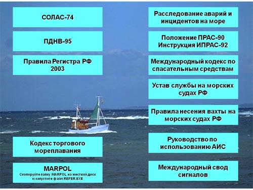 морские конвенции