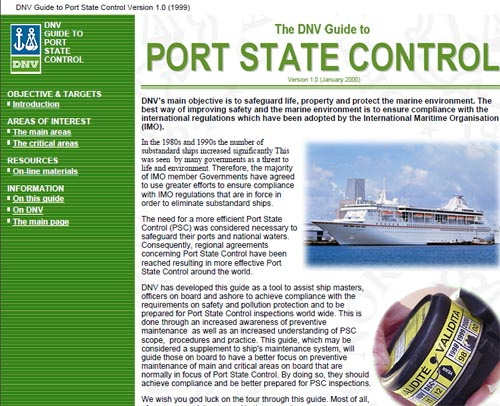 Guide to Port State Control