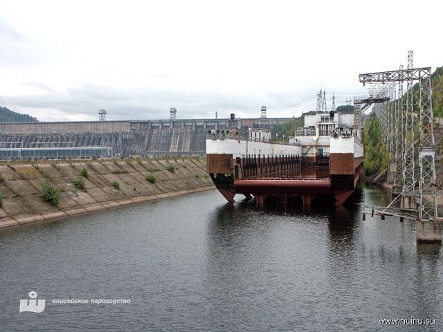 Судоподъёмник Красноярской ГЭС